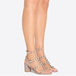 NWT Studded Sandals